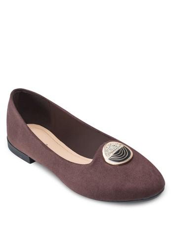 金飾平底鞋,esprit outlet hong kong 女鞋, 鞋