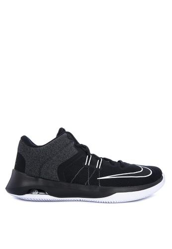 Nike black Men's Nike Air Versitile II Basketball Shoes 62C97SH75438C1GS_1