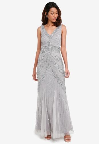 Lace & Beads grey Paola Maxi 2F784AA47C8577GS_1