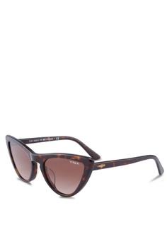 1cde21c14a9c Vogue brown Vogue VO5211SF Sunglasses DA57BGL957E58AGS_1