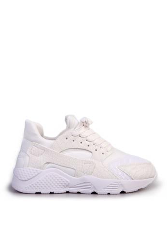 Sunnydaysweety white Korean Authentic  Heavy-bottomed Full-leather Snake White Leather Sneakers C020407 SU443SH2VGESHK_1