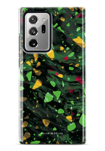 Polar Polar green Malachite Terrazzo Gem Dual-Layer Tough Case Glossy For Samsung Galaxy Note20 Ultra 5G E68C3AC5F3532DGS_1
