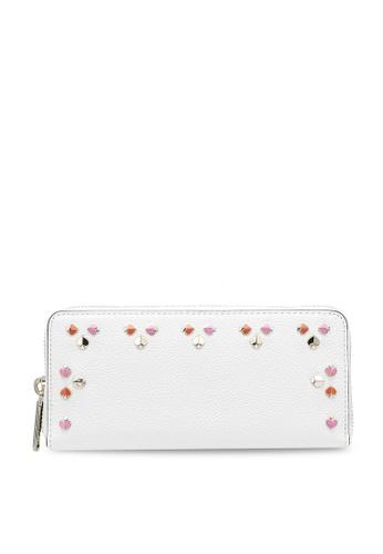 kate spade new york white Slim Continental Wallet (cv) 82988AC28B8F0CGS_1