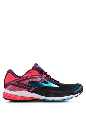 Brooks black and pink Ravenna 8 Shoes 54507SH927B922GS_1