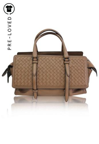 BOTTEGA VENETA brown Pre-Loved bottega veneta Brown Monaco Nappa Bag 7D7EDACC0A3A90GS_1