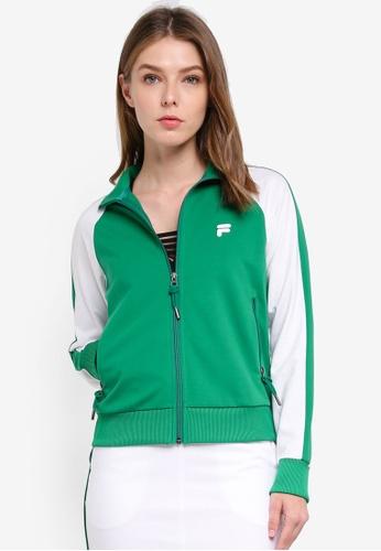 FILA green Orginale Knit Zip Jacket 1AE5FAA8F900E7GS_1