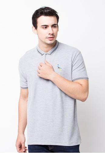 Endorse Polo Shirt E Origambird Misty Grey END-PE011