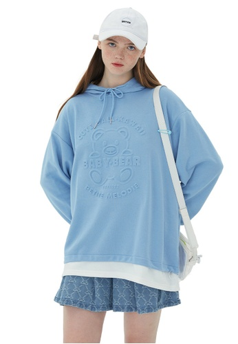 Twenty Eight Shoes Oversize Printed Casual Hoodies HH1520 97C67AA7021907GS_1