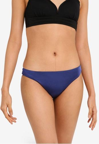 Seafolly blue Shine On Brazilian Bikini Bottom 442D3US1510A90GS_1