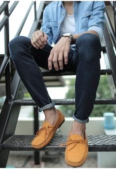 Terreno Loafers - Mustard Yellow