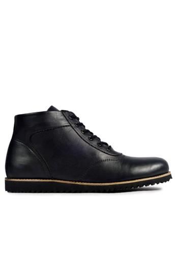 MIG black MIG Footwear Hornet Boots Black - Hitam MI684SH99COQID_1