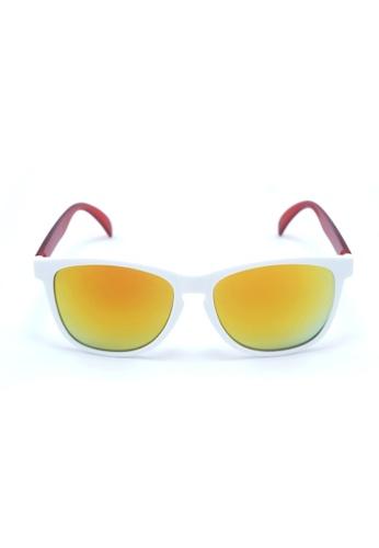 2i's to eyes white and orange 2i's Sunglasses - Fay 2I983AC01OYSHK_1