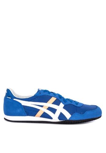 Onitsuka Tiger blue Serrano  Sneakers 8128ESH1E6D76EGS_1