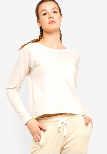 Cotton On Body white Back To School Long Sleeve Top A4BC6AA71874B3GS_1