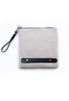 Urban Square Clutch Bag with Dual Hand Straps