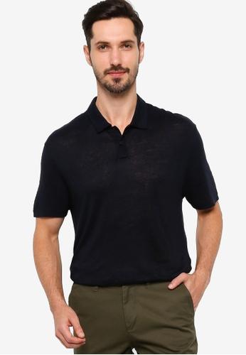 BOSS 藍色 Paino 06 Polo Shirt 7B18BAAA8CDF4DGS_1