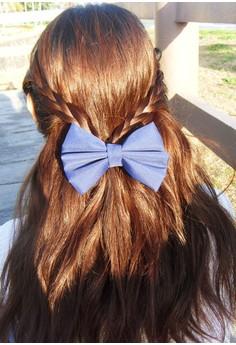 Navy Blue Bow (Large)