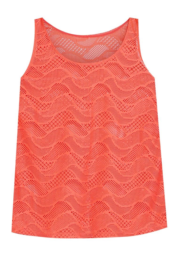 Orange Shift Lace Top Funfit Tank PXxqw557I