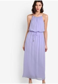 Lilac Chain Maxi Dress