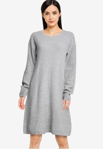 GAP grey Sweater Dress 6BE76AA98623C0GS_1