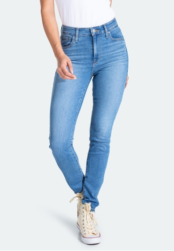 Levi's blue Levi's 721 High Rise Skinny Jeans 18882-0327 BC30FAA6CADC9FGS_1