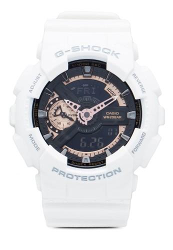 G-Shock GA110RG-7A 防水指針錶, 錶類, esprit au其它錶帶