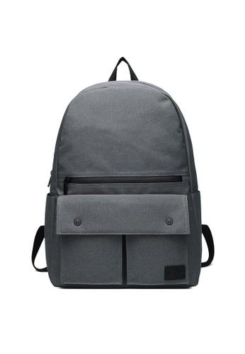 The Dude grey Urbanist Backpack TH373AC52NBVHK_1