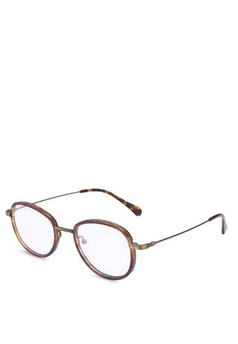 Medium Rare Store brown Aden Glasses 04A67GLAE9E5A6GS_1
