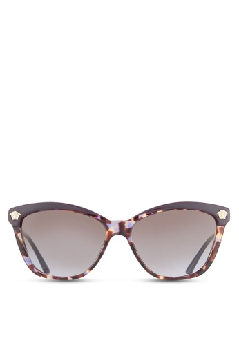 Versace brown Rock Icons VE4313A Sunglasses VE417GL65QMOMY_1