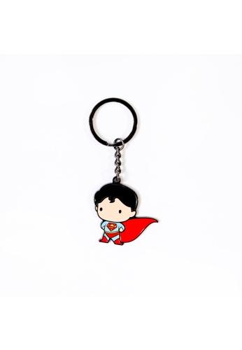 DC Comics Superman Enamel Keychain B7482HL14E0506GS_1
