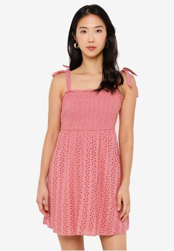 Hollister pink Bare Schiffley Dress 17262AA57DEBE3GS_1