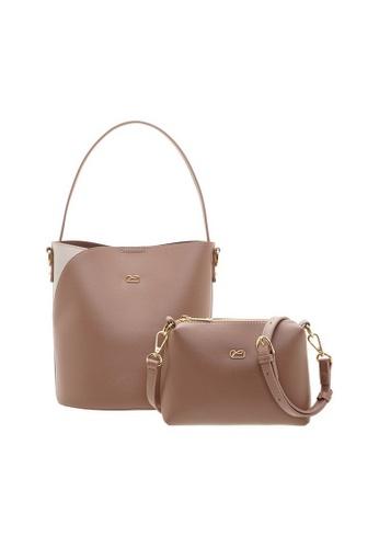 Valentino Creations pink Valentino Creations Marriton Handbag & Slingbag 2 in 1 Set 1A83FACD6B4511GS_1