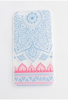 Colorful Floraldala Soft Transparent Case for iPhone 6plus, 6s plus