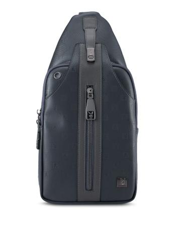 Playboy grey Playboy Chest Bag PL371AC0SK1ZMY_1