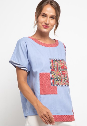 Nayara blue and multi B Leni Mukti MR FBC20AA85ED166GS_1