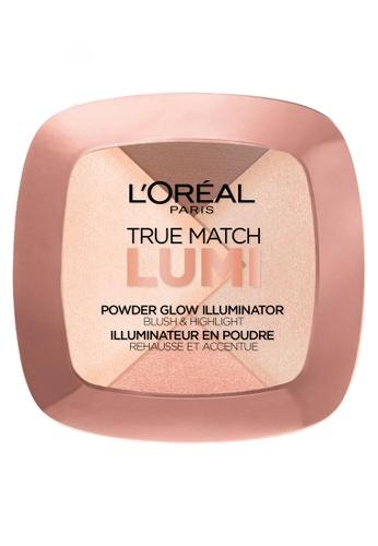 L'Oréal Paris n/a True Match Lumi Powder Glow Illuminator W102 Gold LO674BE06PTPPH_1