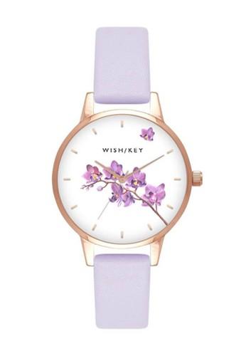 Wish/Key purple Jam Tangan Wanita Wish/Key Rachel WK4011RG/13 AD450AC744366DGS_1