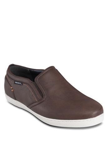仿皮杏仁頭懶人esprit hk store鞋, 鞋, 休閒鞋