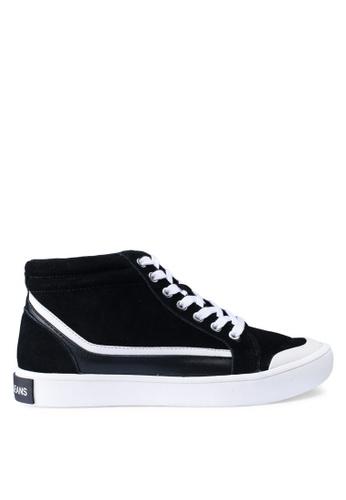 Calvin Klein black Dione Sneakers C7D7BSH3F82B50GS_1