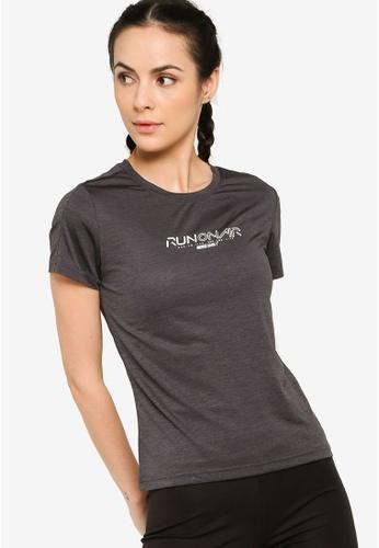 361° black Running Series Short Sleeves T-shirt 60890AAD1FC017GS_1