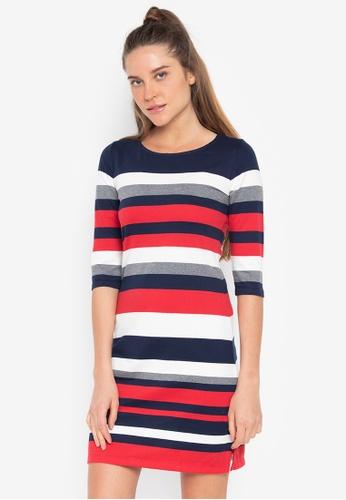 c10eb93227 Shop Blued Peaches Striped Dress Online on ZALORA Philippines