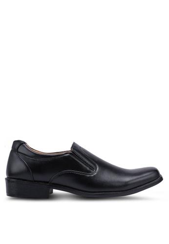 Rocklander black Slip On Formal Shoes 9C50ESH35CFE64GS_1