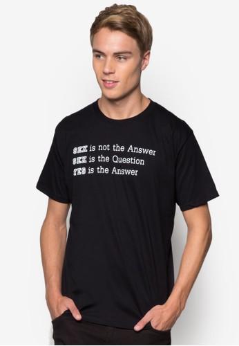 文字訊息T 恤, 服飾, esprit 寢具印圖T恤