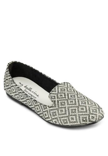 Madelyn 暗紋zalora退貨樂福鞋, 女鞋, 鞋