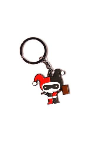 DC Comics Harley Quinn Enamel Keychain 2651CHL7D030B3GS_1