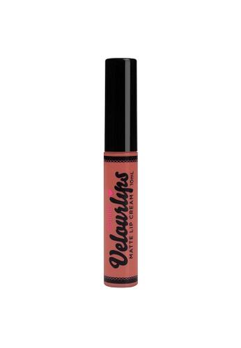 Australis pink Australis Velourlips Matte Lip Cream - Frank-Flirt AU782BE0G6ROSG_1