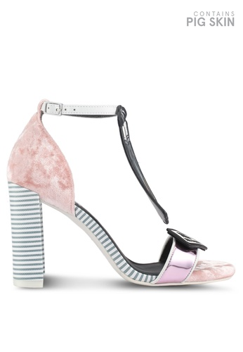 House of Avenues pink Make It Pop Again Sandals 0AD7CSH4C89197GS_1