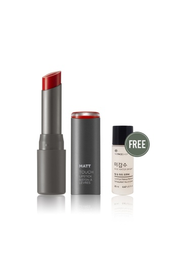 THE FACE SHOP red Glossy Touch Lipstick RD02 33AD0BE8E9D9C3GS_1