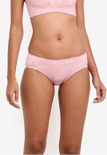 XIXILI pink Julia Bikini Panty XI802US0S8LBMY_1