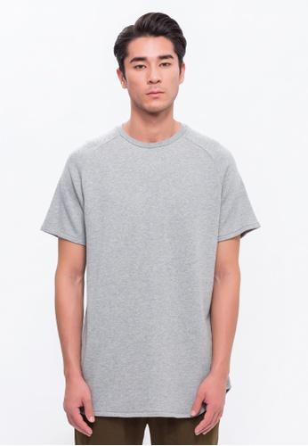 Alpha Style grey Ryne Long T-Shirt AL461AA0FVDESG_1